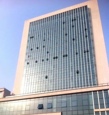 九江市食品药品检验中心大楼玻璃幕墙工程